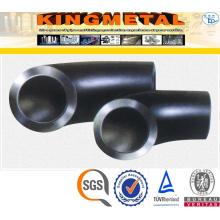 Стандарт ASTM А105 3000lbs испускает штуцеры трубы стали углерода 90 градусов локоть