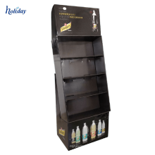 Papplesebuch-Halter-Stand für Buchladen, Förderboden-dauerhafte Buch-Ausstellungsstände