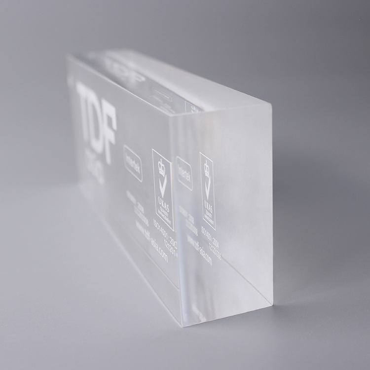 Glass Display Blocks