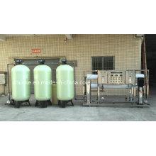 Machine de purification de l'eau avec système d'osmose inverse pour rivière
