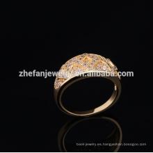 diseño de anillos de oro para mujer con anillo mecánico de precio