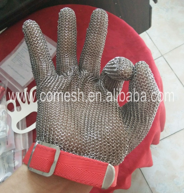 Stainless Steel Butcher Gloves.