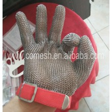 Cut resistance stainless steel gloves for butcher