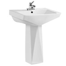 hot sale top quality bathroom ceramic pedestal basin unique pedestal sinks