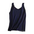 PK18A30HX Pure Cashmere Vests with V -neck