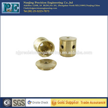 custom fabrication services brass machining part
