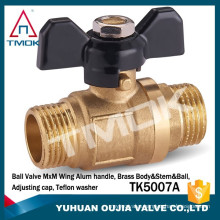 brass ball valve for mexican multilayer pipe brass ball valve for oil