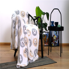 Lightweight Printed Fleece Microfiber Children's Blankets