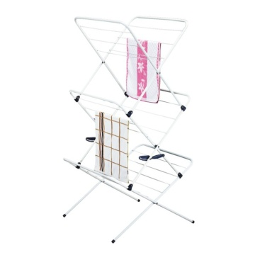 Plegables X-Frame Clothes Dry Rack
