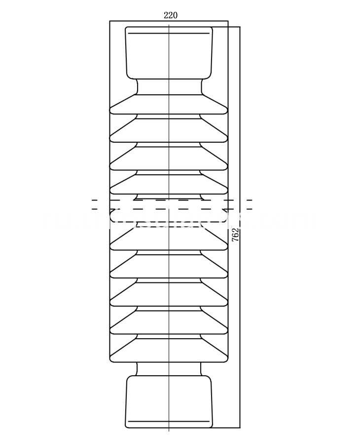 post insulator diagram