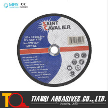230X1.8X22 Cutting Disc for Metal Stainless Steel Inox Steel