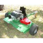 가솔린 엔진 구동 ATV 깎는 기계를 마무리