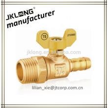 brass gas ball valve male thread
