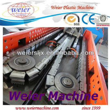 Línea de producción de mangueras de corrugación de tubería corrugada / corrugación simple Extrusoras de tornillo único