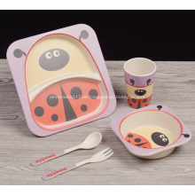 Super niedliche Figur entworfen Kinder-Abendessen-Set