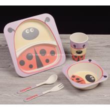 Figura super fofa projetado conjunto de jantar criança
