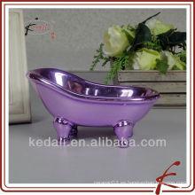 Bañera de lujo de cerámica jabonera
