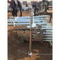 Hot DIP Galvanized Ground Pile, Ground Screw