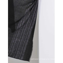 100% lã solúvel em água 200s com lenço de lurex