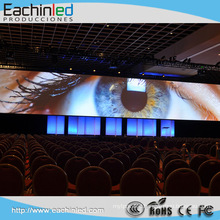 Stage Background P4 Indoor Rental Led Video Wall Panel For Conference Video System Be distinguished by its design, P3.9 Indoor event audio visual equipment LED video walls are consisted to be the best event production on the market.