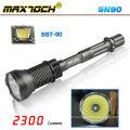 Maxtoch SN90 SST-90 3*18650 2300lm LED Flashlight Big
