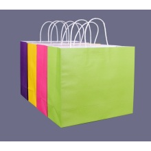 Recycled Kraft Gift Paper Bag With Logo