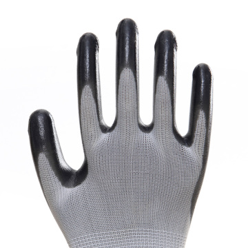 Non-Disposable Tight Nitrile Work Protective Gloves