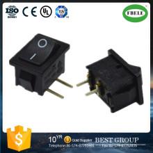 Miniatur beleuchtete Power Rocker Switch / 24 V Wippschalter