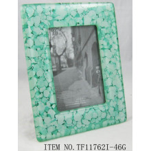 Rectangle Fused Glass Photo Frame