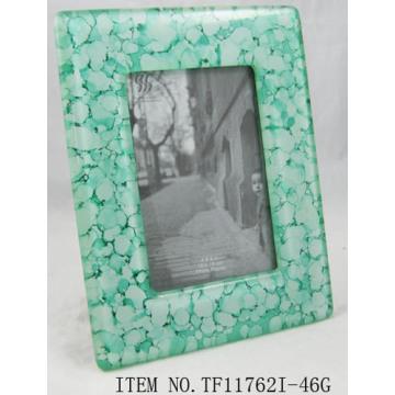 Rectángulo fusionados con marco de foto cristal