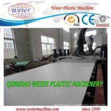 Machine d'extrudeuse de panneau moussant de PVC WPC en plastique