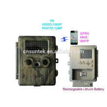 Outdoor Invisible waterproof 3g wireless trail camera HT002LIG