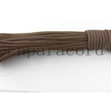 Brown 550 polyester paracord 100 ft or any length