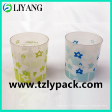 Two Color, Heat Transfer Film for Plastic Cup