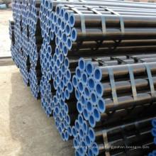 Tubo de acero al carbono sin costura Q345B laminado en caliente