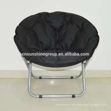 Living Room Leisure Furniture Fabric Folding Moon Chair
