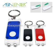 Hot Selling 2 Led Keychain with pen