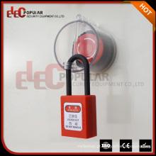 Elecpopular Novos produtos 17-23Mm Bloqueio de plástico ABS Parada de emergência Bloqueio de equipamentos elétricos