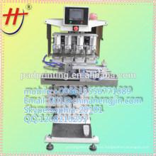 Especial quente da venda da impressora de almofada das cores HP-160DY 4 com shuttle para o frasco de vidro