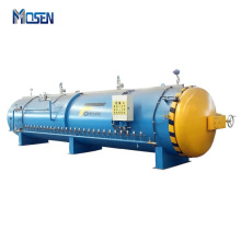 High Temperature High Pressure PLC Control Autoclave For Tire Retreading