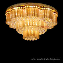 2014 high-quality luxury crystal ceiling light from China