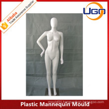 sexy Glossy female plastic mannequin mould