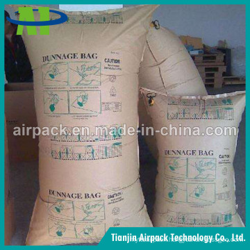 Waterproof and Wetproof Brown Kraft Paper Inflator Dunnage Air Bag OEM