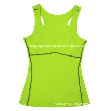 Mulheres Tank Tops Ginásio Camisola Womens Gym Wear Senhoras Fitness Wear