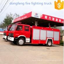 Dongfeng de água 4 * 2 tanque de caminhão de bombeiros de combate a incêndios