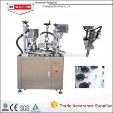 Máquina de sellado y sellado semiautomático de tubos Máquina automática de sellado de posición