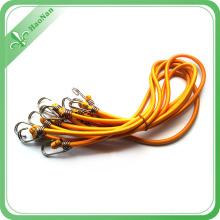 Factory Hot Sale Colorful Thin Custom Logo Elastic Bungee Cord