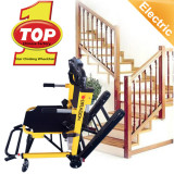 High strength 20 miles driving distance aluminum easy operation wheelchair to climb stairs