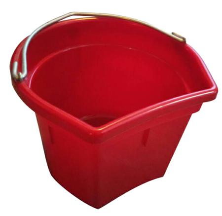 red horse bucket