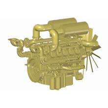 60Hz 688KVA Googol generador de energía